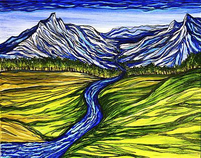 Mystic Mountains Art Print by Stephanie Meyer