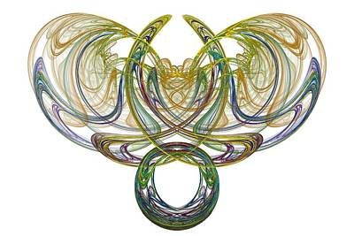 Digital Art - Mystic Pendant by Rick Chapman