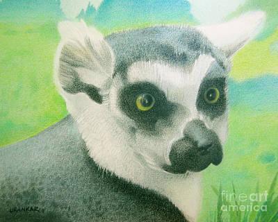 Mystic Seer Of Madagascar Art Print by Lisa Urankar