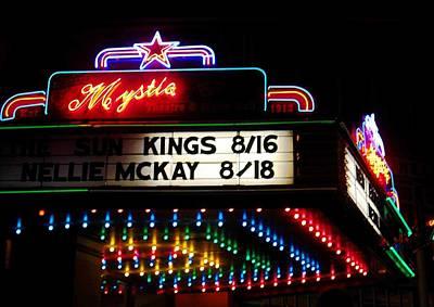 Photograph - Mystic Theater Petaluma by Kelly Manning