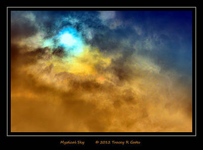 Photograph - Mystical Sky by Tracey R Gates