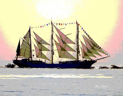 Mystical Voyage Art Print