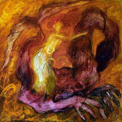 Painting - Mythology #3 by Alfredo Gonzalez