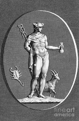 Hermes Wall Art - Photograph - Mythology: Hermes by Granger
