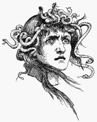 Mythology: Medusa Art Print by Granger
