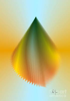 Art Print featuring the digital art N5 by Leo Symon