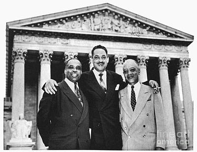 Naacp Attorneys, 1954 Art Print by Granger