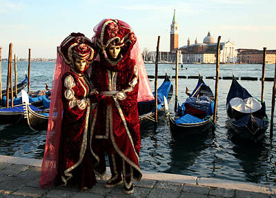 Photograph - Nadine And Daniel Across San Giorgio by Donna Corless