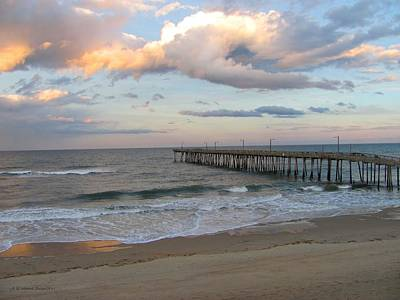 Photograph - Nags Head Pier by Jennie  Richards