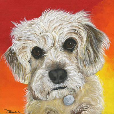 Painting - Nala by Debbie Brown