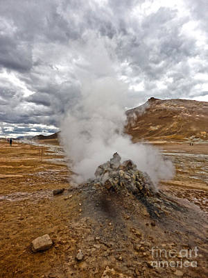Photograph - Namaskard Iceland Geothermal Vent by Gregory Dyer