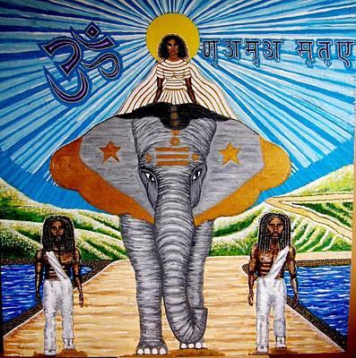 Farishields Painting - Namaste by Far I Shields