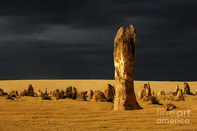Photograph - Australia Nambung Desert 2 by Bob Christopher