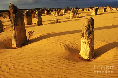 Photograph - Australia Nambung Desert 5 by Bob Christopher