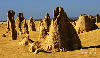 Photograph - Australia Nambung Desert 3 by Bob Christopher