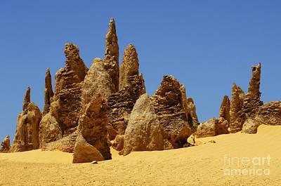 Photograph - Australia Nambung Desert 9 by Bob Christopher