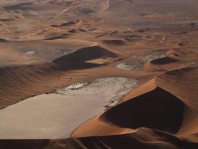 Namibia Aerial IIi Art Print by Nina Papiorek