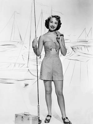 Fid Photograph - Nancy Goes To Rio, Jane Powell, 1950 by Everett