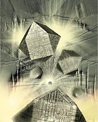 Digitally Manipulated Photograph - Nanobot Replication by Richard Kail