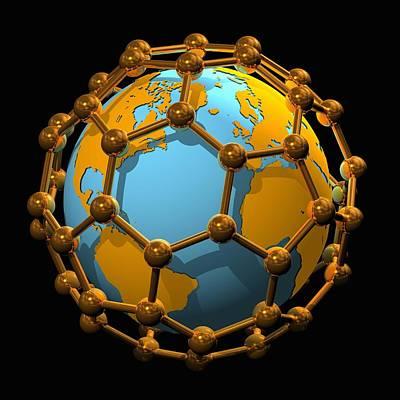 Nanotechnology, Conceptual Artwork Art Print by Laguna Design