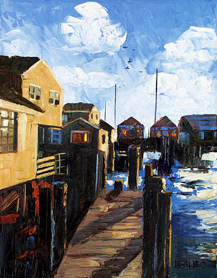 Nantucket Print by Anthony Falbo