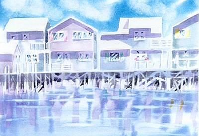 Nantucket Painting - Nantucket Reflections by Joseph Gallant