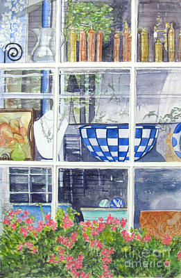 Painting - Nantucket Shop-lecherche Midi by Carol Flagg