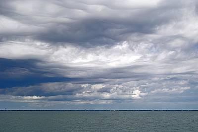 Nantucket Sound Sky Art Print by Paul Donovan