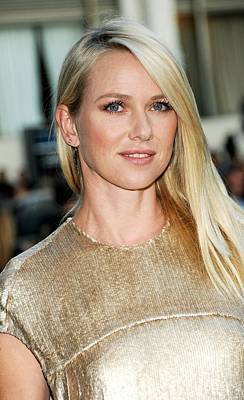 Naomi Watts At Arrivals For The 2011 Art Print