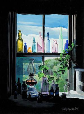 Painting - Naomi's Window by Richard Mordecki