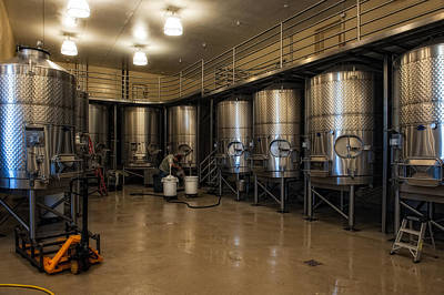 Photograph - Napa Valley Winery by Gary Rose