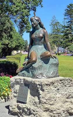 Photograph - Napier's Little Mermaid by Carla Parris