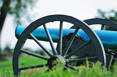 Photograph - Napolean 12 Pounder Cannon by John Kiss