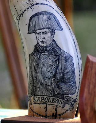 Napoleon Scrimshaw Art Print by David Lee Thompson