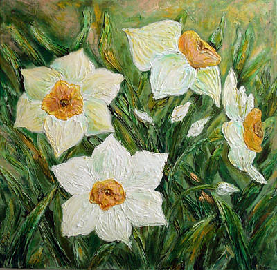 Narcissus In Bloom Art Print