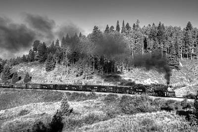 Photograph - Narrow Gauge Steam by Ken Smith