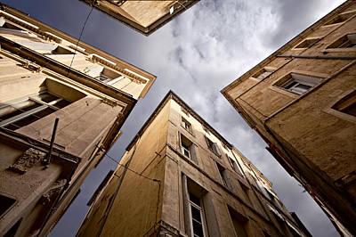 Narrow Streets Of Montpellier Art Print by Evgeny Prokofyev