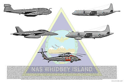 Prowler Digital Art - Nas Whidbey Aircraft by Clay Greunke