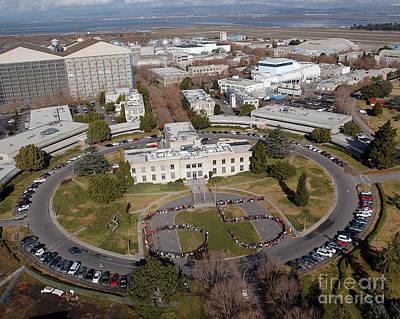 Ames Research Center Photograph - Nasa Ames Research Center by Nasa