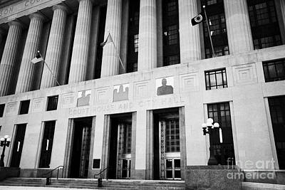 Nashville City Hall Davidson County Public Building And Court House Tennessee Usa Art Print by Joe Fox