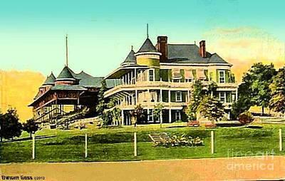 Painting - Nashville Tn Fairgrounds Racetrack 1907 by Dwight Goss