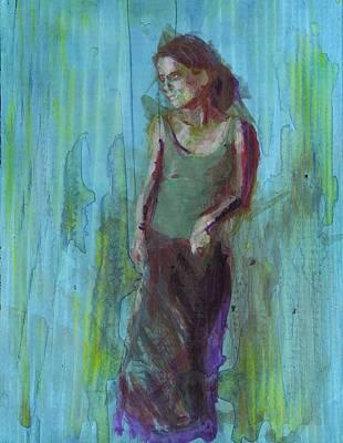 Natalie Art Print by Eric Atkisson