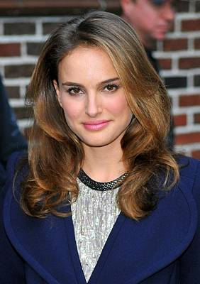 At A Public Appearance Photograph - Natalie Portman At A Public Appearance by Everett
