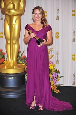 Natalie Portman, Best Performance By An Art Print by Everett