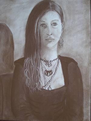 Natasha Art Print by Bonita Bruch