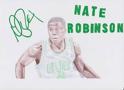 Nate Robinson Art Print