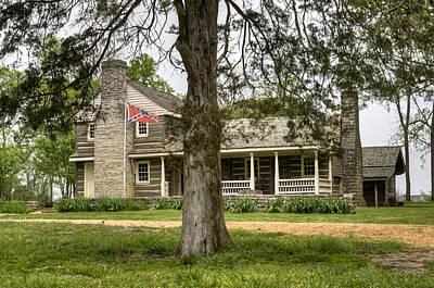 Nathan Bedford Forrest Boyhood Home 4 Art Print by Douglas Barnett