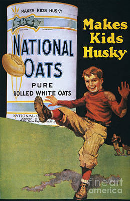 Photograph - National Oats Ad, 1919 by Granger