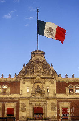 Photograph - National Palace Mexico City by John  Mitchell