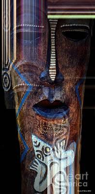 Digital Art - Native Africa 3 by Maria Urso
